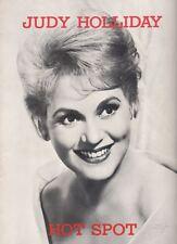 "Judy Holliday  ""Hot Spot""  Souvenir Program  1963    FLOP   Joseph Campanella"
