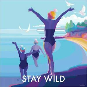 Stay Wild Blank Card Birthday Thanks Any Occasion Eco-friendly Recycled