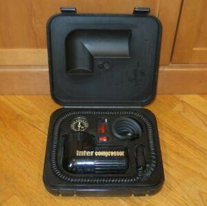 Inter Compressor Portable Air Pump Tire Inflator - Vintage