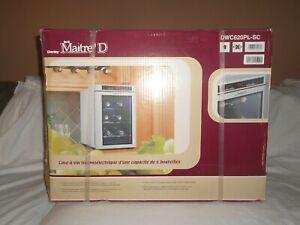 New Danby Maitre'D 6 Bottle Digital Wine Cooler Storage Refrigerator Countertop