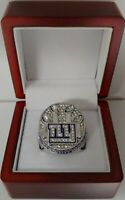 Eli Manning - 2011 New York Giants Super Bowl Custom Ring With Wooden Box