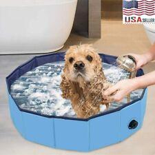 Dog Cat Pet Swimming Pool Collapsible Pvc Pet Pool Kiddie Bathing Tub Foldable
