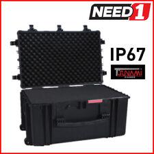 Tsunami Large Waterproof Hard Roller Case PVC With Foam 851mm X 556mm X 429mm