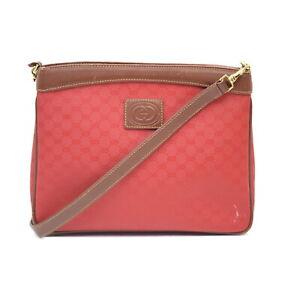 Gucci Shoulder Bag  Reds PVC 2400408