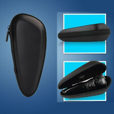 577E Electric Shaver Bag Travel Protective Case Black PU Fits for Philips Razor