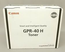 Canon GPR-40 H Black Toner Cartridge 3482B005AA iR LBP3560 Genuine New Open Box