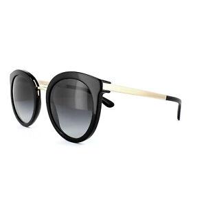 Dolce & Gabbana Sonnenbrille 4268 501/8G Schwarz Grau Verlauf