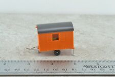 Wiking Construction Towing Trailer Orange 1:87 HO Scale