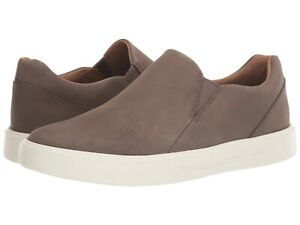 Men's Shoes Clarks UN COSTA STEP Slip On Loafer Sneakers 48382 TAUPE NUBUCK