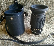 Tokina 70-200mm 1:4.0-5.6 lens NO.9709935 with two caps and case