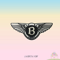 Bentley Car Brand Logo Motor Sport Racing Embroidered Iron On Patch Sew On Badge