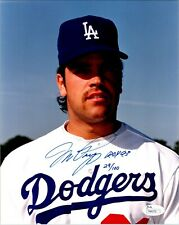 Mike Piazza Los Angeles Dodgers ROY 93 29/100 Signed 8x10 Photo with JSA COA