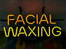 "New ListingNew Facial Waxing Neon Light Lamp Sign 19""x15"" Glass Bar Beer"