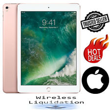- Apple iPad Pro 1st Generation - 32GB, Wi-Fi, 9.7 inches, Rose Gold -