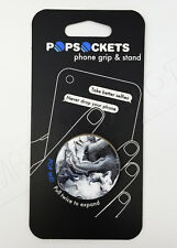 PopSockets Single Phone Grip PopSocket Universal Phone Ghost Marble 101738 NEW !