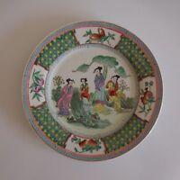 Teller Keramik Plate Porzellan Japan Jugendstil Ethnisch Deko Xx PN Frankreich