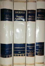 Aggiornamenti Digesto Utet Discipline pubblicistiche - 4 volumi Aggiornamento