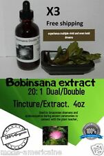Lucid Dreaming Extract Tincture 4oz Bobinsana Grounding Ayahuasca ( lot of 3 )