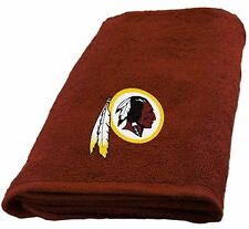 Washington Redskins Hand Towel measures 15 x 26 inches