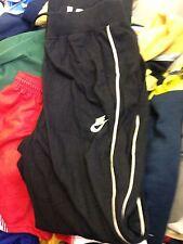 NIKE FLEECE BOTTOMS  bla fleece open bottoms boot leg IN  medium 32/3INCH AT £12