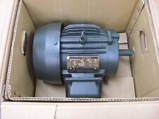 New Toshiba 3HP, 1800 RPM, 460 V, 182T, TEFC B0034FLF1BYHD Electric Motor