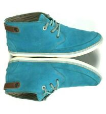 07c3069c276c Lacoste Women s 8 M Suede Leather High Top Shoes Sneakers Turquoise Blue  Clavel