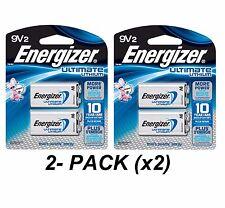 Energizer Ultimate 9 Volt Batteries
