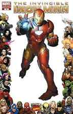 THE INVINCIBLE IRON MAN #16 VARIANT 2008 NEAR MINT MARVEL bin16-707
