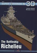 Kagero Super Drawings in 3D 17: The Battleship Richelieu