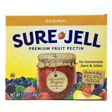 Sure-Jell Original Premium Fruit Pectin 1.75 oz Exp 7/2023 Homemade Jam Jelly