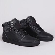 VANS Alomar (Croc Camo) Black/Black Leather Skate Shoes Men's 6.5 Women's 8