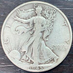 USA - Half Dollar - Liberty 1945 San Francisco