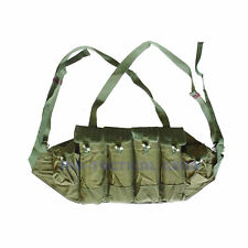 IETNAM WAR ORIGINAL CHINESE 81 TYPE CHEST RIG MAGPOUCH PLASTIC BUTTON