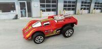 Vintage 1986 Hot Wheels Ultimator X-V Racers Red STP #3 Racer 1:64 Hong Kong