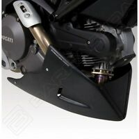 BARRACUDA PUNTALE AEROSPORT NERO OPACO DUCATI MONSTER 696 - 796 --