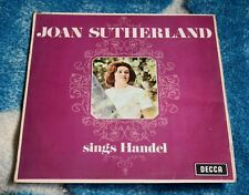 JOAN SUTHERLAND SINGS HANDEL UK LP DECCA SXL 6191 BONYNGE/BOULT ED2 + INSERT