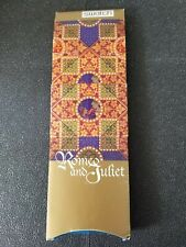 SWATCH Romeo and Juliet Collectors Watch, never worn, box a bit tattered