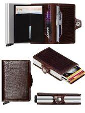 Tarjetero Secrid RFID protector de tarjetas Twinwallet Nile Marrón