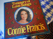 Connie Francis Treasury Of Love Songs Vinyl LP 1984