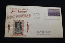 PATRIOTIC COVER 1948 1ST DAY ISSUE 100TH ANNIVERSARY FORT KEARNEY CROSBY (667)