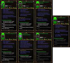 Diablo 3 RoS PS4 [SOFTCORE] - Tal Rasha's Elements Wizard Set [Ancient]