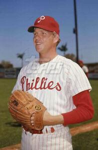 1970 Topps Baseball Original Color Negative BARRY LERSCH Philadelphia Phillies