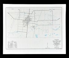 Texas Map - Brooks County - Falfurrias Town Plan - Department of Transportation