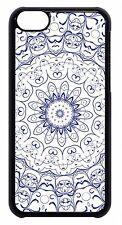Mandala Floral Henna Style design Pattern Back Case Cover For Apple iPod 4 5 6