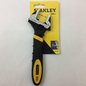 STANLEY 200 mm ADJUSTABLE SPANNER 0-90-948 30mm opening comfort handle pro/DIY