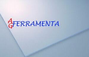 VETRO SINTETICO PANNELLO LASTRA PLEXIGLASS PRETAGLIATO 125X50X4MM