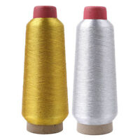 Gold and Silver Colors Metallic Embroidery Machine Thread G