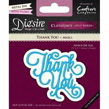 die'sire from crafters companion - thank you- ds-c-thank