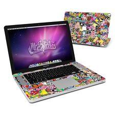 """MacBook Pro 15"""" 2nd Gen Unibody Skin Sticker Kit Sticker Bomb v1"""