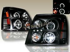 02-06 CADILLAC ESCALADE CCFL PROJECTOR HEADLIGHTS 03 04